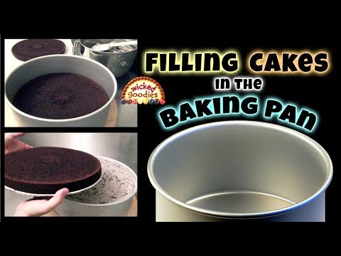 Part 1 Cake Filling Method   Freezing Cakes