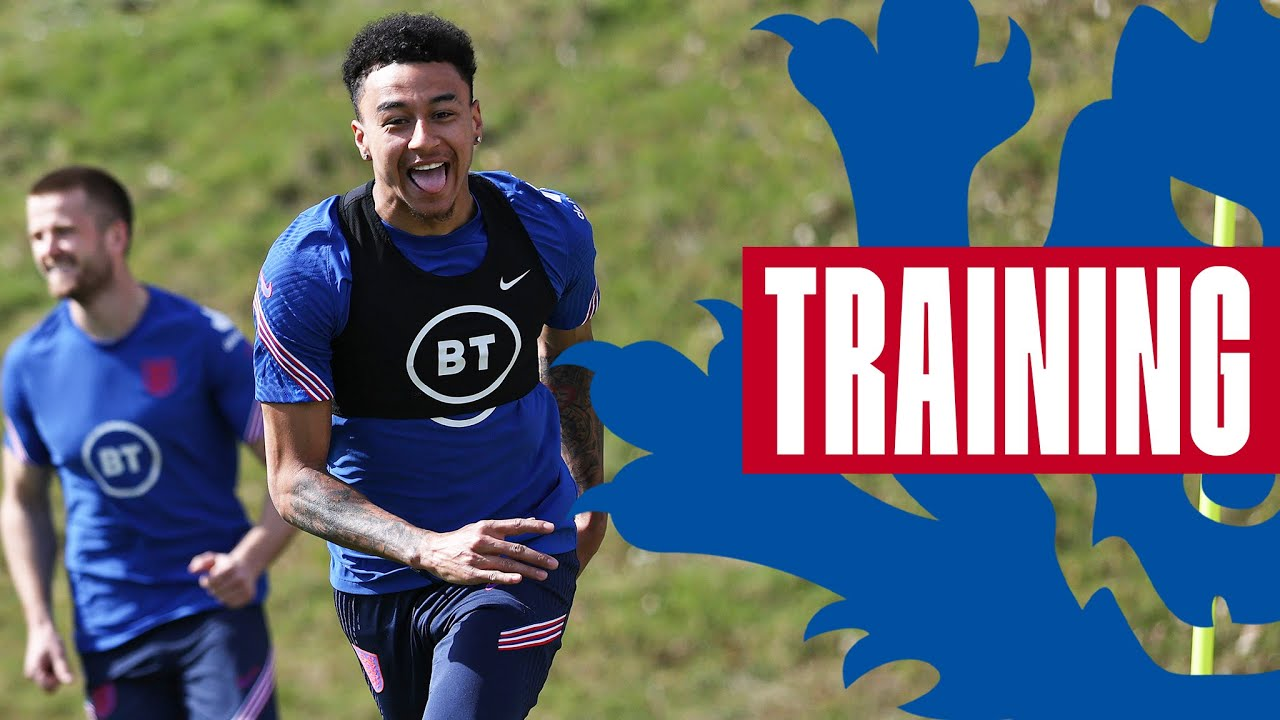 Jesse Races Dier, Watkins & DCL Shooting & 5-A-Side In The Sun!🔥   Inside Training   England