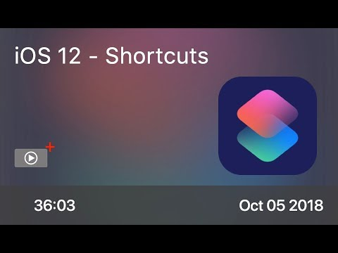 SCOM0775 - iOS 12 - Shortcuts - Preview