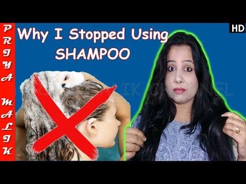 What Happened To Me ? Why I Stopped Using SHAMPOO ? Priya Malik
