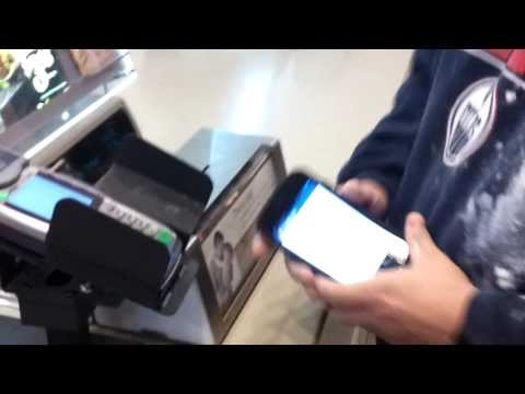 Google Wallet on Galaxy Nexus NFC