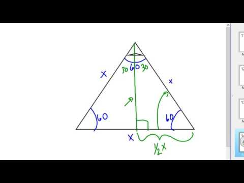 Special right Triangles 30-60-90