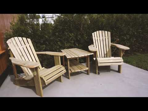 Making Adirondack Chairs With My Grandfather