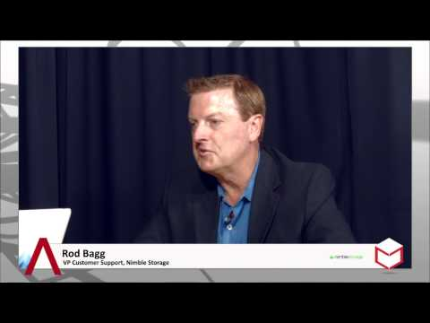 #CUBEconversations: An In-Depth Look Into The IT Market With Rod Bagg - Nimble Storage