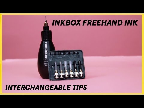 inkbox freehand ink - interchangeable tips