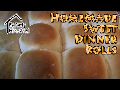 Homemade Dinner Rolls SWEET and EASY