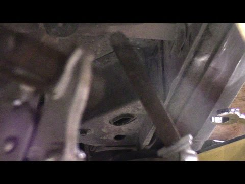 In this video I show you how to deal with bolts that are rusted solid in a rubber bushing.