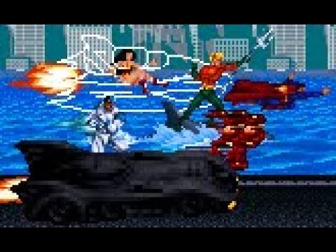 Justice League Beat 'em up - Shooter Stages