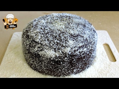 HOW TO MAKE A LAMINGTON CAKE