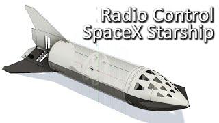 RC SpaceX Starship - Design