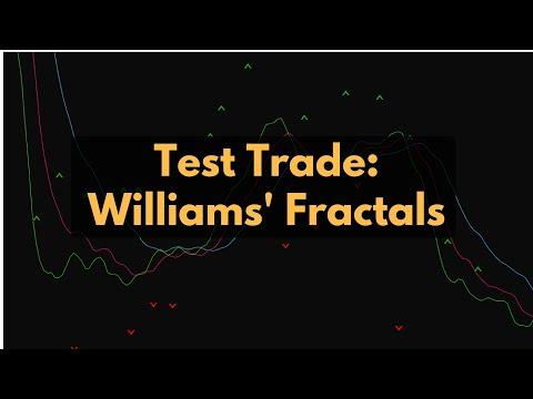 Test Trade: Williams' Fractals