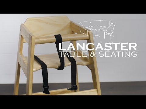 Lancaster Table & Seating: High Chairs & Booster Seats