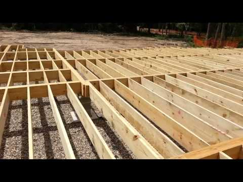 HOW TO HOME FOUNDATION PIER BEAMS PART #2