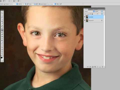 Quick Eye Enhancement in Photoshop