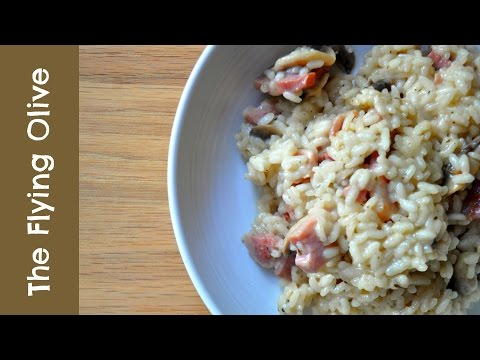 Mushroom and Bacon Risotto | 15 Minute Meals
