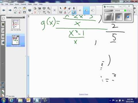 Product of two functions; dividing binomials; dividing fraction fractions