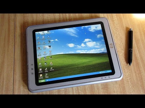 This Tablet Runs Windows XP