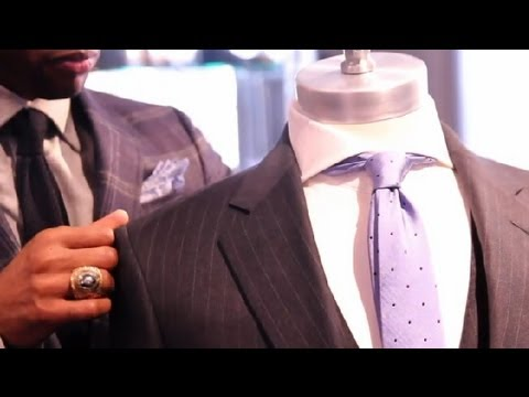 How to Tell a Tailor to Make a Suit Fitted : Men's Suits
