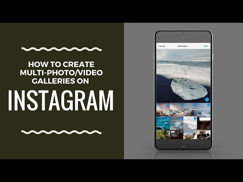 New Instagram Mobile Galleries Walkthrough! Multiple photos & videos for iOS & Android