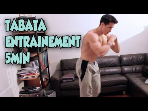 TABATA ENTRAINEMENT INTENSIF 5MINUTES