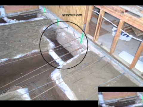 How To Undermine Existing Concrete Foundation Footings - Room Additions