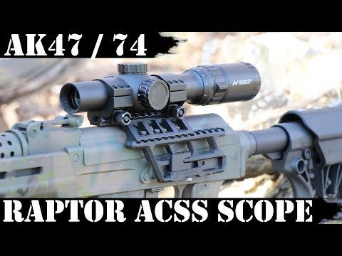 Raptor ACSS Scope for AK47 and AK74