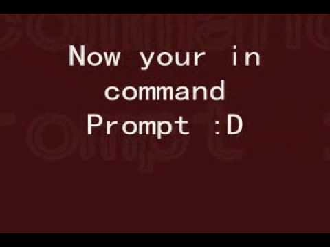 Open Command Prompt + Task Manager (School or at Work)