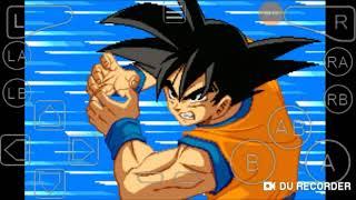 GBA emulator:Dragon ball z super sonic warriors Goku's story: The fall of Freiza