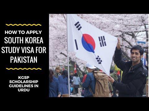South Korea Study Visa For Pakistan | KGSP Guidelines in Urdu/Hindi