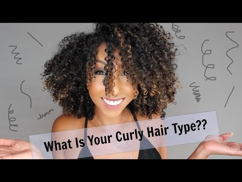 What Is Your Curly Hair Type?? 2A, 3B, 4C? | BiancaReneeToday