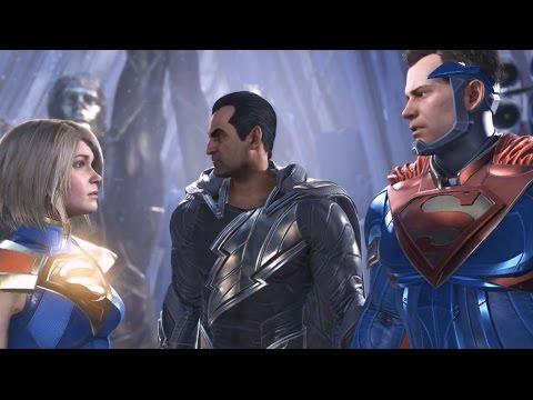 Injustice 2 - Supergirl vs Superman (Story Battle 48) [HD]