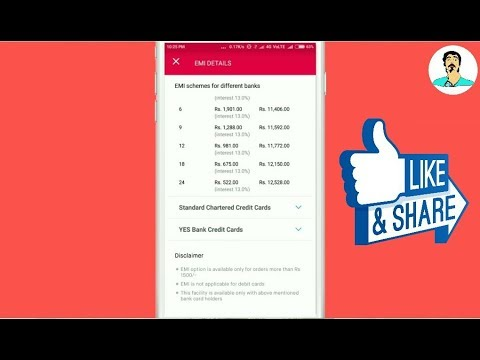 How to buy products on EMI at Snapdeal