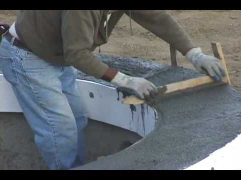 HOW TO BUILD YOUR OWN POOL - PART 5 of 7  COPING - TILE - PreDECK SETUP