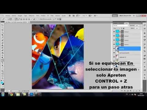 Crear Collage Simple Con photoShop CS5