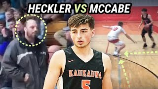Jordan McCabe SHUTS DOWN HECKLER And Catches DUB! Cooks Defenders Over And Over Again 🍳