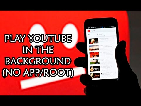 How To Play YouTube Videos In The Background with this simple trick [JUNE 2016 NO APP/ROOT]