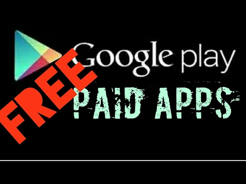 1000000%WORKING... How to get PAID APPS for FREE from Google Play Store 2017 (NO ROOT)
