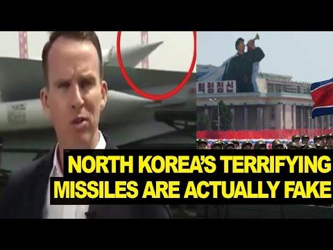 North Korea Showcases FAKE Missiles, Could Start World War III