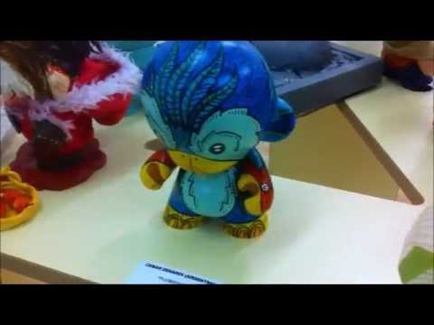 Exhibition: Unboxed, A Custom Vinyl Toy Exhibition
