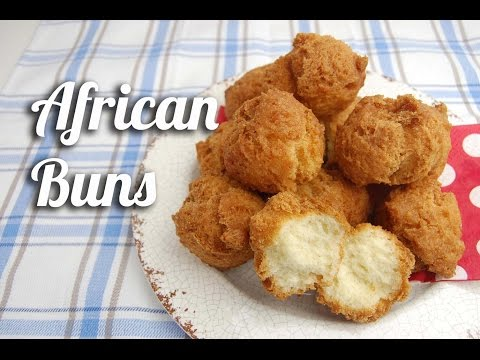 African buns (Crunchy fritters)