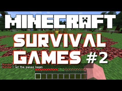 Minecraft Survival Games - Part 2 (Hosted by iHasCupQuake)
