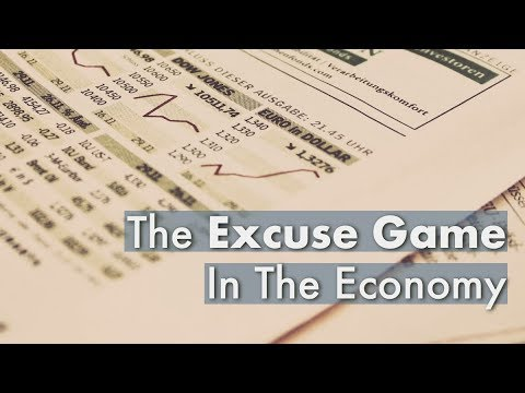 The Excuse Game In The Economy  Gary Coxe #2455