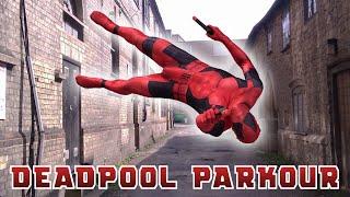 Deadpool Parkour In Real Life (Marvel   Stunts   Tricking)