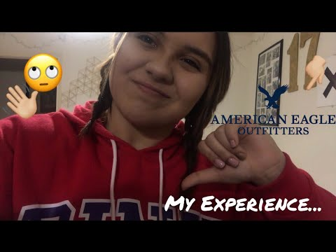 MY JOB EXPERIENCE AT AMERICAN EAGLE (FIRST JOB EVER) | STORY TIME