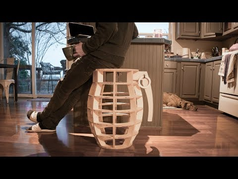 The Making of a Grenade Stool