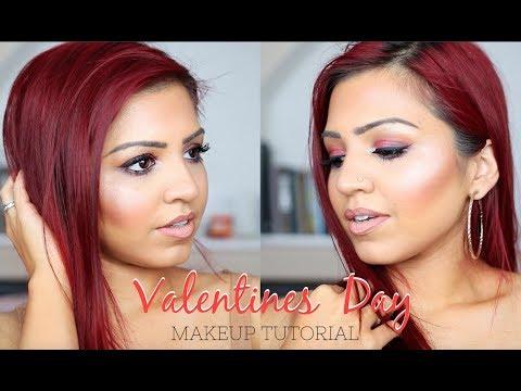 EASY VALENTINES DAY MAKEUP | SABA ALI