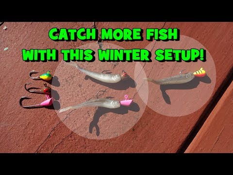 This WINTER SETUP will HELP YOU CATCH MORE FISH!!! (Give-Away Included) (Haddonfield, NJ)
