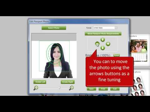 free passport photo software