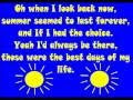 Summer Of 69 Lyrics Bryan Adams Complete Video With Vocals A