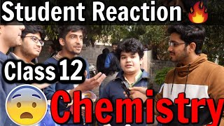 CBSE Class 12 Chemistry Board Exam | Student Reaction | Exam Review